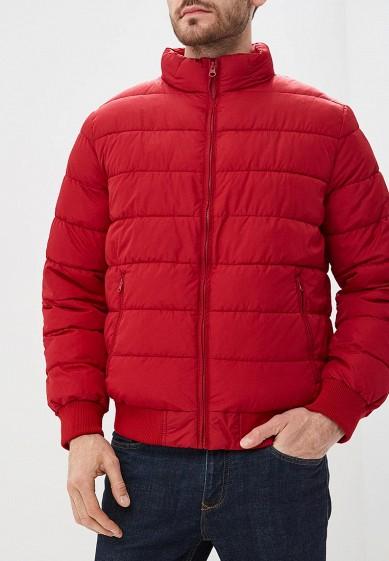 Куртка утепленная, Gap, цвет: красный. Артикул: GA020EMBSYK5. Одежда / Верхняя одежда / Пуховики и зимние куртки