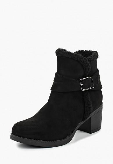 Ботильоны, Girlhood, цвет: черный. Артикул: GI021AWCYRN4. Обувь / Ботильоны