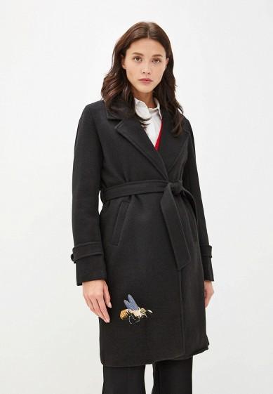 Пальто, Goldrai, цвет: черный. Артикул: GO030EWGKNG6. Одежда / Верхняя одежда / Пальто