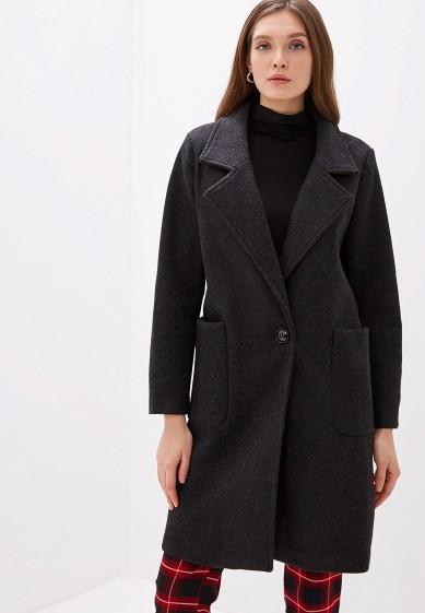 Пальто, Goldrai, цвет: черный. Артикул: GO030EWGKNI8. Одежда / Верхняя одежда / Пальто