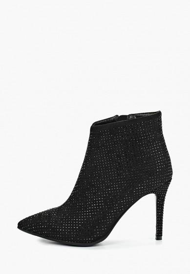 Ботильоны, Grand Style, цвет: черный. Артикул: GR025AWELUY1. Обувь / Ботильоны