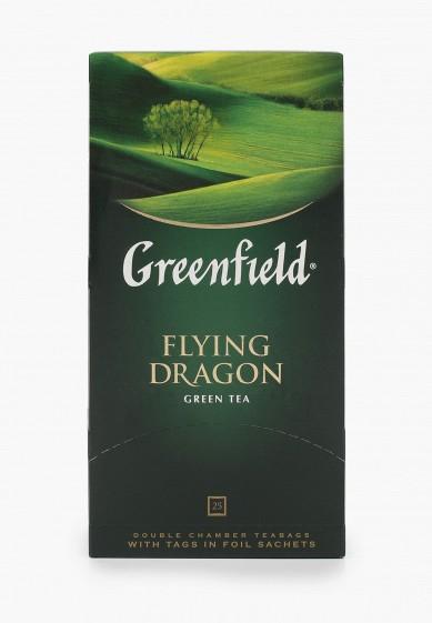 Чай Greenfield зеленый пакетированный, Flying Dragon, 25 шт за 77 ₽. в интернет-магазине Lamoda.ru
