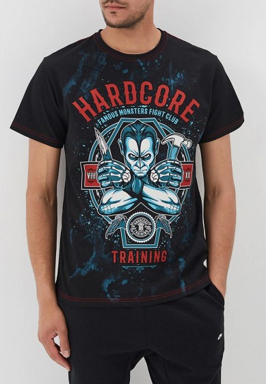 Футболка Hardcore Training Monster Fight Club T-Shirt Black