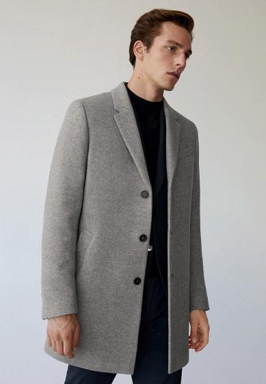 Пальто Mango Man - HAKE-I за 10 399 ₽. в интернет-магазине Lamoda.ru