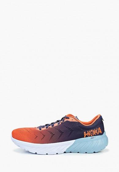 Кроссовки, Hoka One One, цвет: оранжевый. Артикул: HO015AMEHIK9. Hoka One One