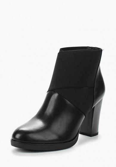 Ботильоны, Ideal Shoes, цвет: черный. Артикул: ID005AWVUG89. Обувь / Ботильоны