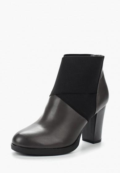 Ботильоны, Ideal Shoes, цвет: серый. Артикул: ID005AWVUG90. Обувь / Ботильоны