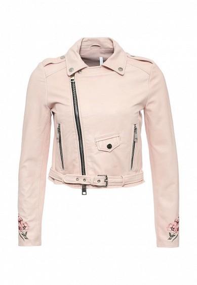 3ac2f7d2fc27 Куртка кожаная Imperial купить за 21 350 руб IM004EWSUX68 в  интернет-магазине Lamoda.ru