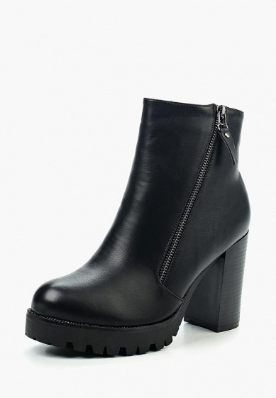 Ботильоны, Instreet, цвет: черный. Артикул: IN011AWVST12. Обувь / Ботильоны