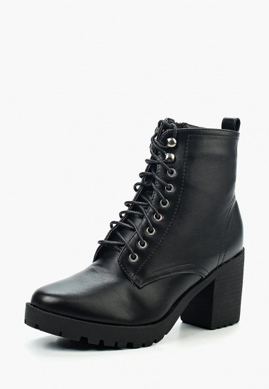 Ботильоны, Instreet, цвет: черный. Артикул: IN011AWVST13. Обувь / Ботильоны