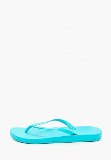 Сланцы, Ipanema, цвет: бирюзовый. Артикул: IP124AWIYKU9. Обувь