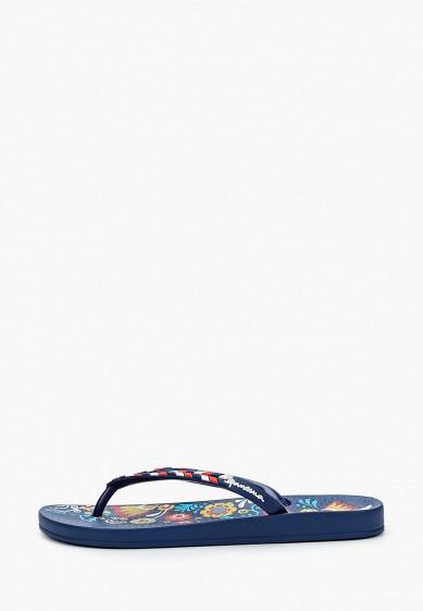 Сланцы, Ipanema, цвет: синий. Артикул: IP124AWIYKW8. Обувь