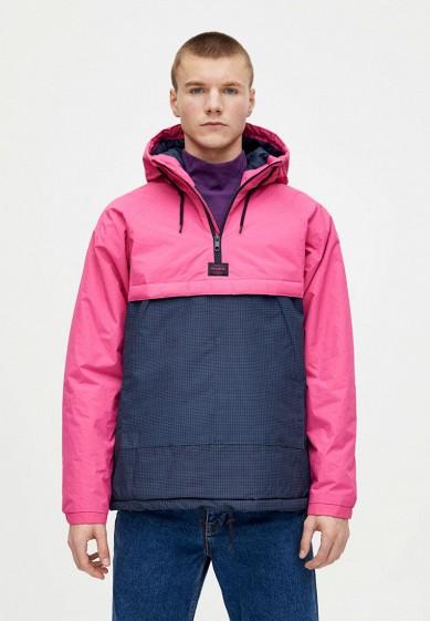 Куртка утепленная, Pull&Bear, цвет: мультиколор. Артикул: IX001XM001AE. Одежда / Верхняя одежда / Пуховики и зимние куртки