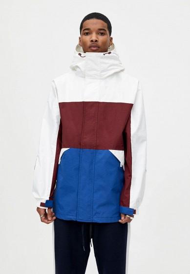 Куртка утепленная, Pull&Bear, цвет: мультиколор. Артикул: IX001XM001IL. Одежда / Верхняя одежда / Пуховики и зимние куртки