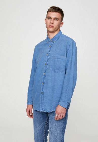 Pull&Bear Рубашка джинсовая