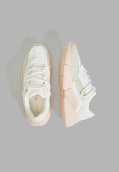 Кроссовки, Oysho_Sport, цвет: белый. Артикул: IX001XW003WS. Обувь / Кроссовки и кеды / Кроссовки