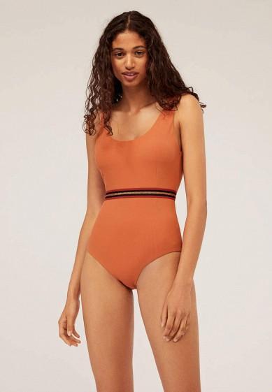 Купальник, Oysho, цвет: оранжевый. Артикул: IX001XW009M9.