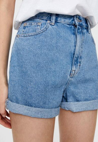Pull&Bear Шорты джинсовые