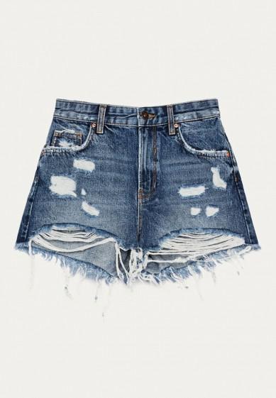 Шорты джинсовые Bershka за 2 999 ₽. в интернет-магазине Lamoda.ru