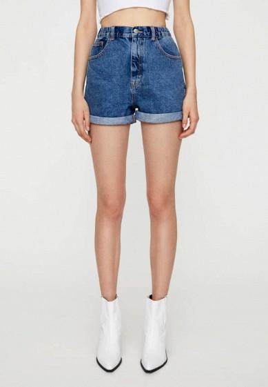 Шорты джинсовые Pull&Bear за 1 999 ₽. в интернет-магазине Lamoda.ru