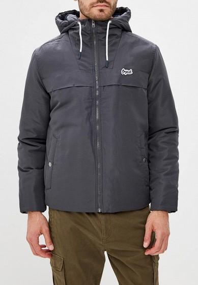 Куртка утепленная, Jack & Jones, цвет: серый. Артикул: JA391EMBZMD3. Одежда / Верхняя одежда / Пуховики и зимние куртки
