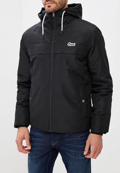 Куртка утепленная, Jack & Jones, цвет: черный. Артикул: JA391EMBZMD4. Одежда / Верхняя одежда / Пуховики и зимние куртки