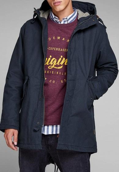 Куртка утепленная Jack   Jones купить за 5 160 руб JA391EMBZMD9 в ... d0b94e59130fc