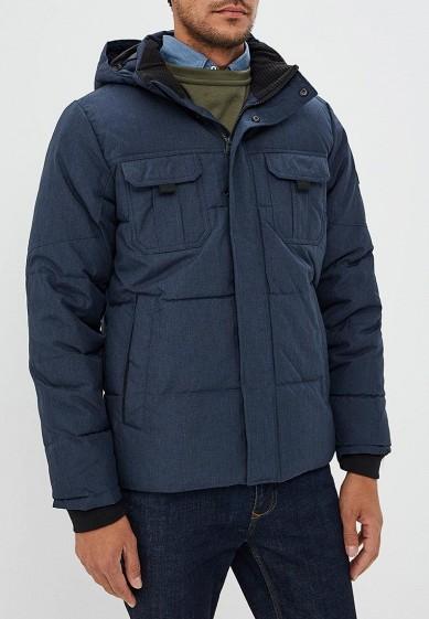 Куртка утепленная, Jack & Jones, цвет: синий. Артикул: JA391EMBZME4. Одежда / Верхняя одежда / Пуховики и зимние куртки