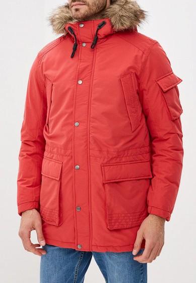Куртка утепленная, Jack & Jones, цвет: красный. Артикул: JA391EMBZMJ6. Одежда / Верхняя одежда / Пуховики и зимние куртки
