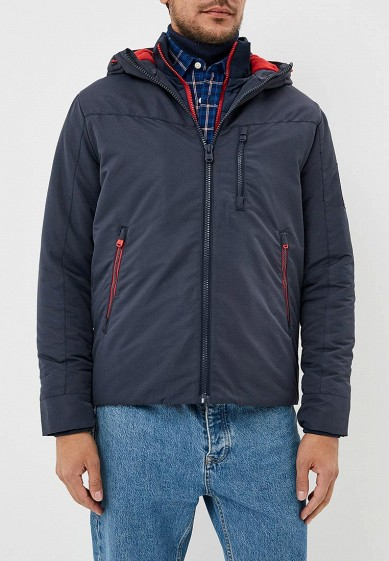 Куртка утепленная, Jack & Jones, цвет: синий. Артикул: JA391EMBZMV4. Одежда / Верхняя одежда / Пуховики и зимние куртки