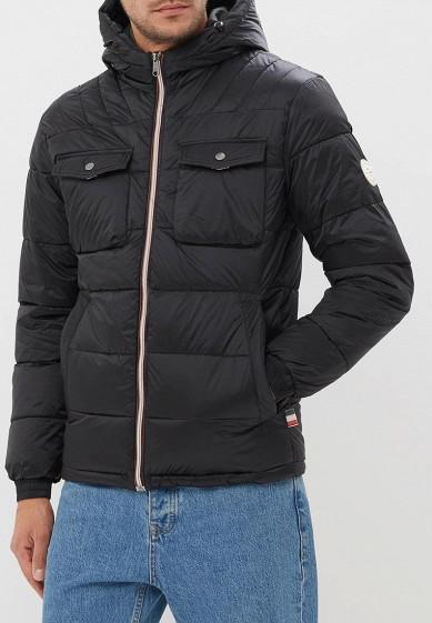 Куртка утепленная, Jack & Jones, цвет: черный. Артикул: JA391EMBZRD3. Одежда / Верхняя одежда / Пуховики и зимние куртки