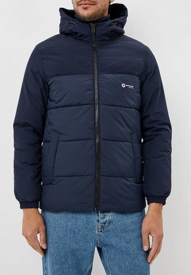 Куртка утепленная, Jack & Jones, цвет: синий. Артикул: JA391EMBZRL4. Одежда / Верхняя одежда / Пуховики и зимние куртки