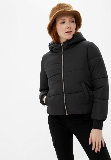 Куртка утепленная, Jacqueline de Yong, цвет: черный. Артикул: JA908EWFKIF8. Одежда / Верхняя одежда
