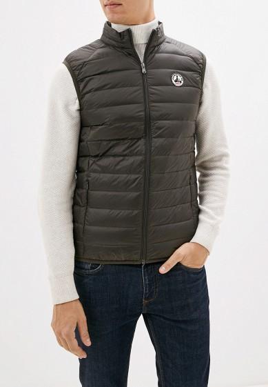 Жилет утепленный, Jott, цвет: серый. Артикул: JO026EMGOJE8. Одежда / Верхняя одежда