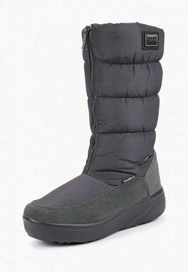 Дутики, King Boots, цвет: серый. Артикул: KI008AWCVOU2. Обувь