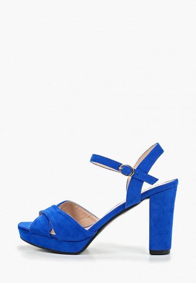 Босоножки, La Bottine Souriante, цвет: синий. Артикул: LA062AWETDP9. Обувь