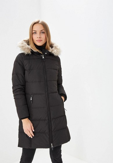 Пуховик, Lauren Ralph Lauren, цвет: черный. Артикул: LA079EWBPWZ2. Premium / Одежда / Верхняя одежда