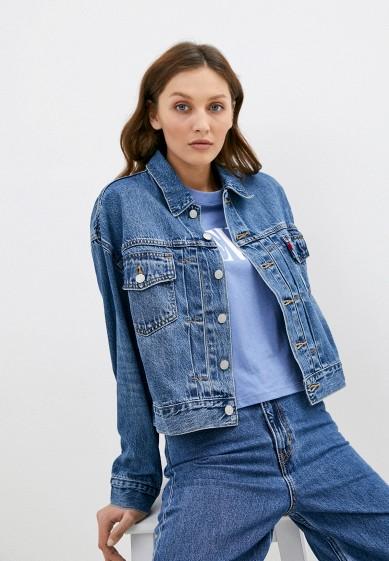 Куртка джинсовая Levi's® NEW HERITAGE TRUCKER за 5 509 ₽. в интернет-магазине Lamoda.ru