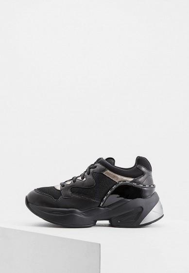 Кроссовки, Liu Jo, цвет: черный. Артикул: LI687AWGLZB9. Обувь / Кроссовки и кеды / Кроссовки