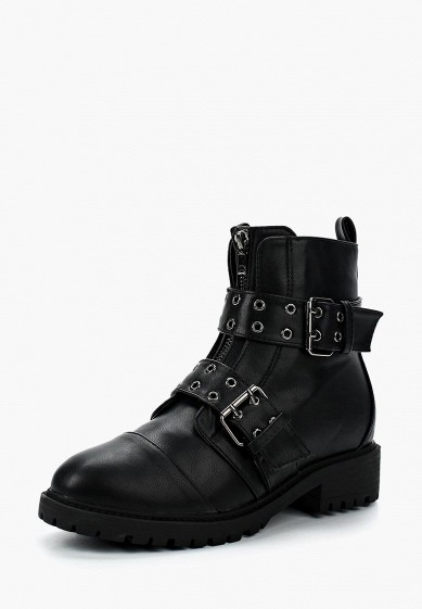 Ботинки LOST INK DANNI BUCKLE DETAIL FLAT BOOT