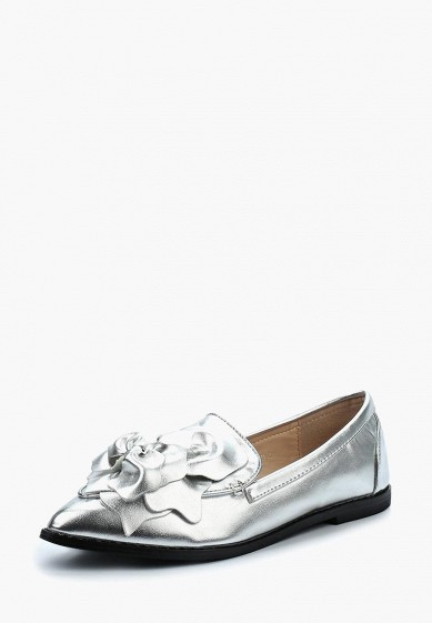 Лоферы LOST INK FRANKI FLOWER TRIM LOAFER
