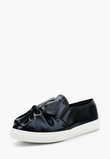 Слипоны LOST INK SCARLETT BOW FRONT SLIP ON TRAINER
