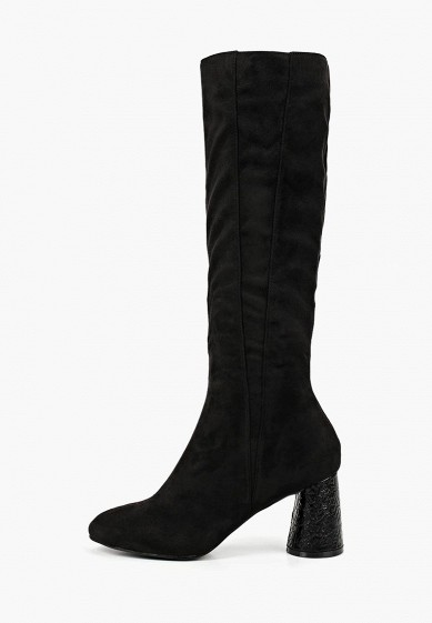 Сапоги LOST INK CRACKLE HEEL PLAIN HIGH BOOT