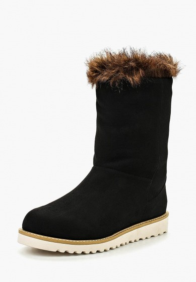 Полусапоги LOST INK UMEKO PLUSH FAUX FUR ANKLE BOOT