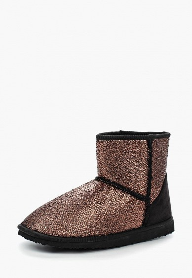Полусапоги LOST INK UYENCE TEXTURE ANKLE FAUX FUR BOOT - KNIT