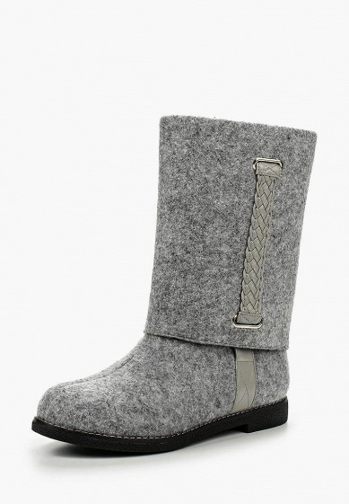 e0ae6564ad46 Валенки LOST INK FREDA PLAIT DETAIL FELT BOOT купить за 1 490 руб  LO019AWLLZ26 в интернет-магазине Lamoda.ru