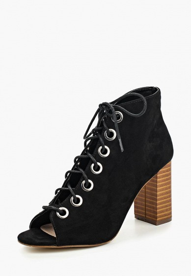 Ботильоны LOST INK BETTY EYELET DETAIL PEEPTOE BOOT