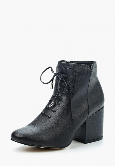 Ботильоны LOST INK DITA LACE UP BLOCK HEEL ANKLE BOOT