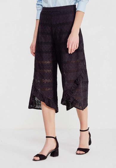 Брюки LOST INK BRODERIE WIDE LEG TROUSER
