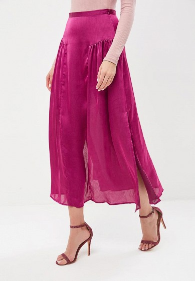 Юбка LOST INK SATIN MAXI SKIRT